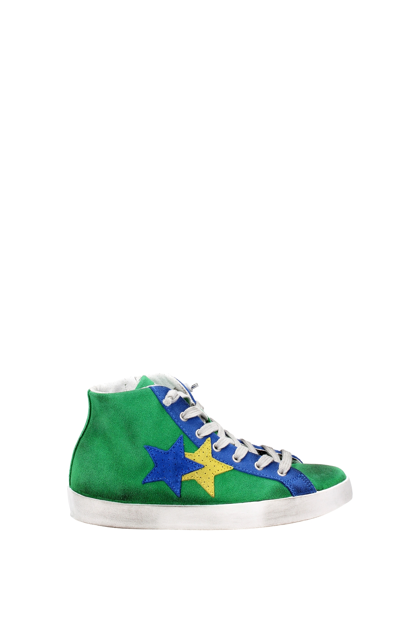 Sneakers 2star 2star Sneakers Damen - Wildleder (2SB626VERDEAZZURRO) bf45ff