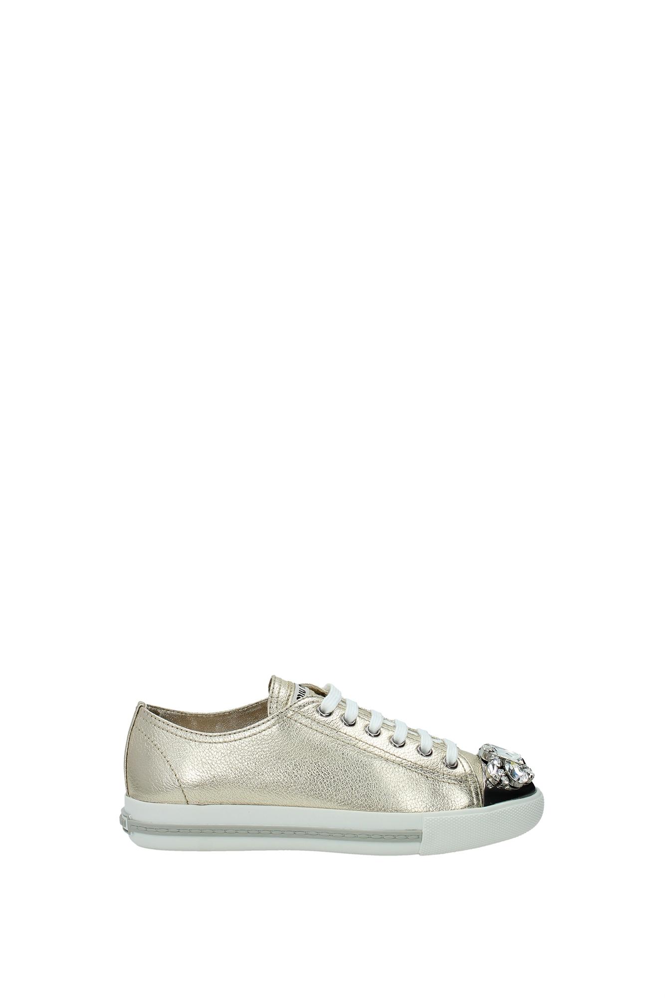 Sneakers Miu Miu Damen - (5E8557PIRITE)  (5E8557PIRITE) - 108bda