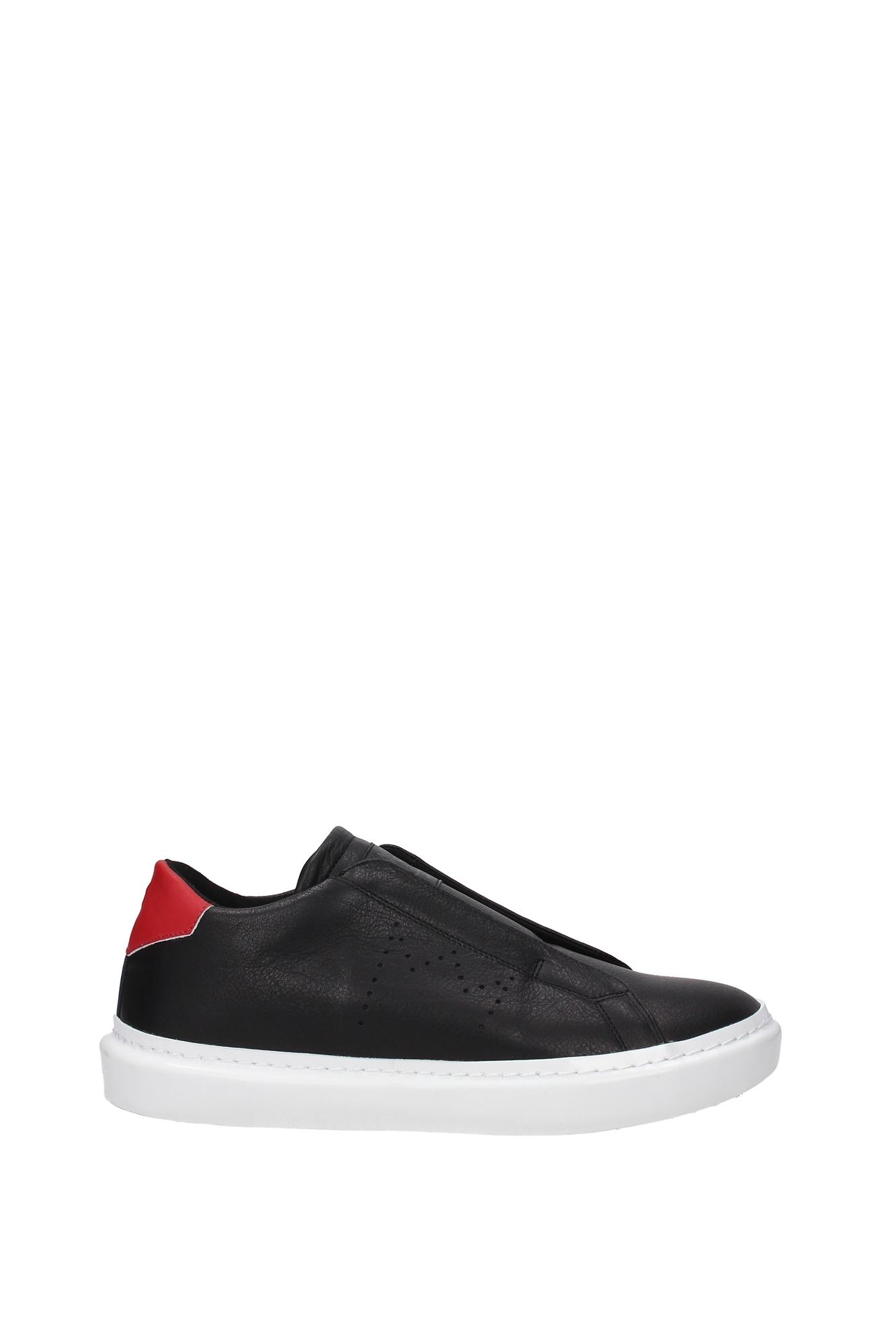 Sneakers Leder Crown - Herren - Crown Leder (MLC25NERO) edb4fc