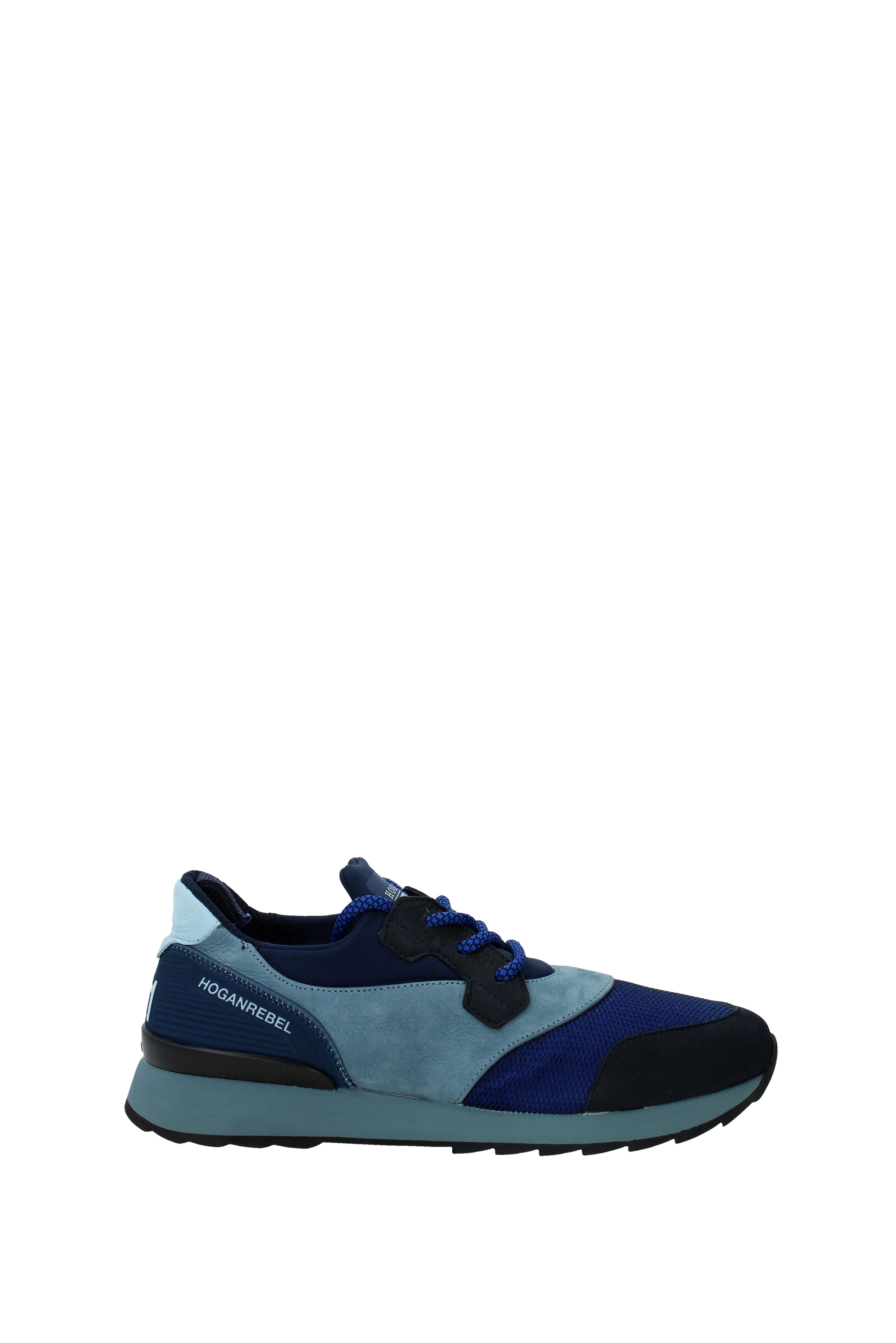 Sneakers Hogan rebel Herren - Wildleder (HXM2610U390FN7)