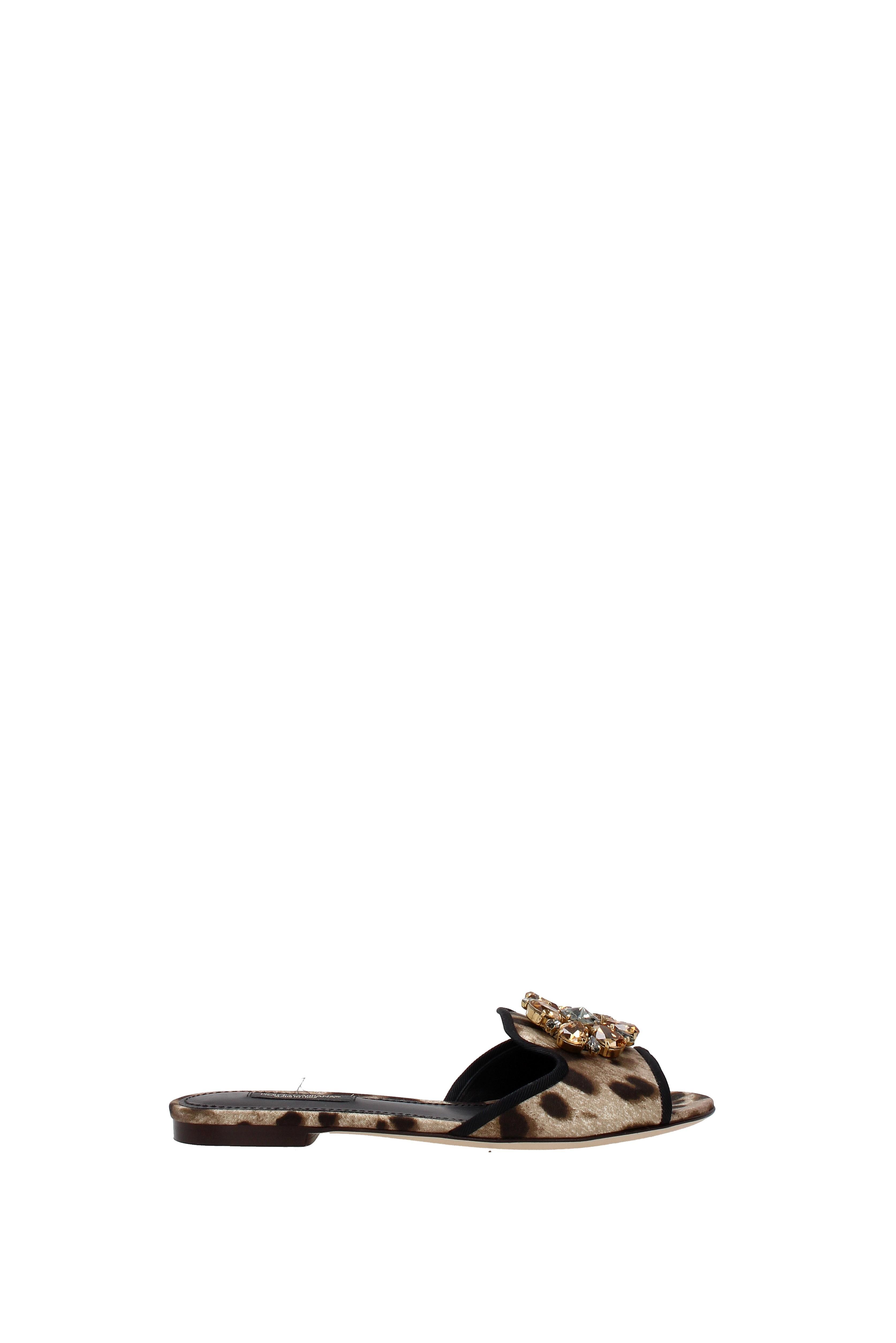 Flip-Flops Flip-Flops Flip-Flops und Holzschuhe Dolce&Gabbana Damen - Stoff (CQ0023AG411) e8ee20