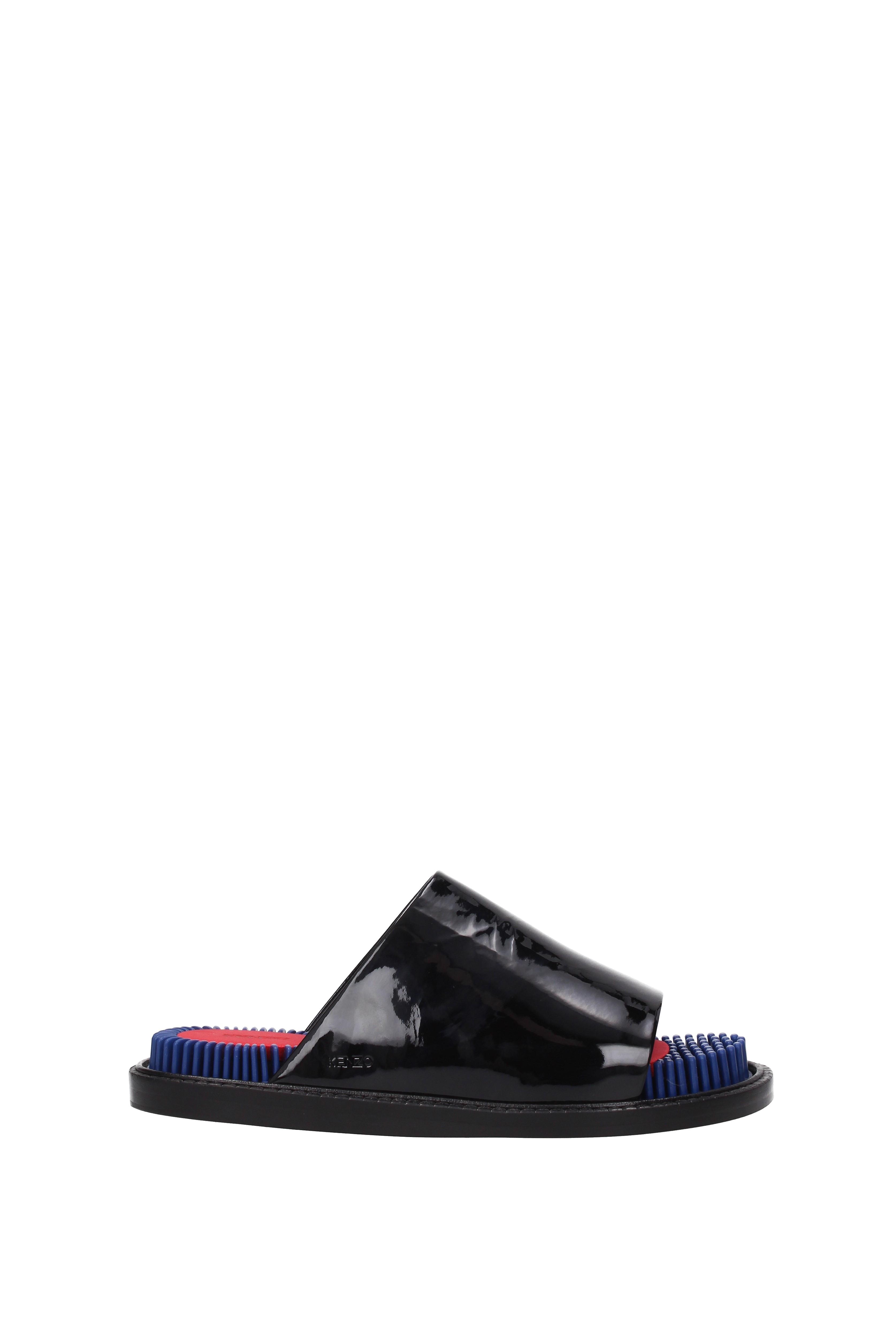 Flip-Flops Kenzo und Holzschuhe Kenzo Flip-Flops Damen - Lackleder (L581SD292K61) 7c861d