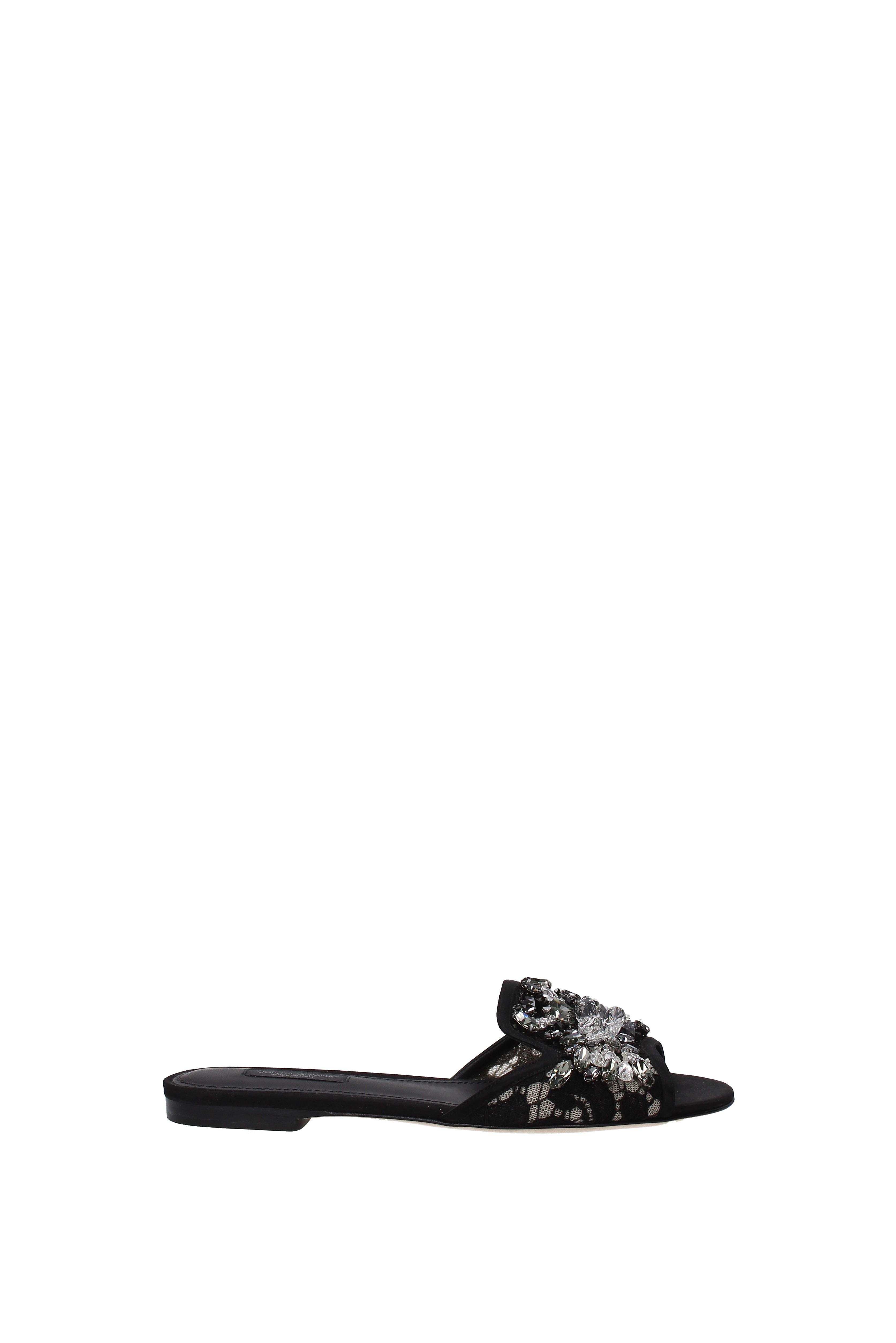 Flip-Flops und Stoff Holzschuhe Dolce&Gabbana Damen - Stoff und (CQ0022AL198) 7afbd6