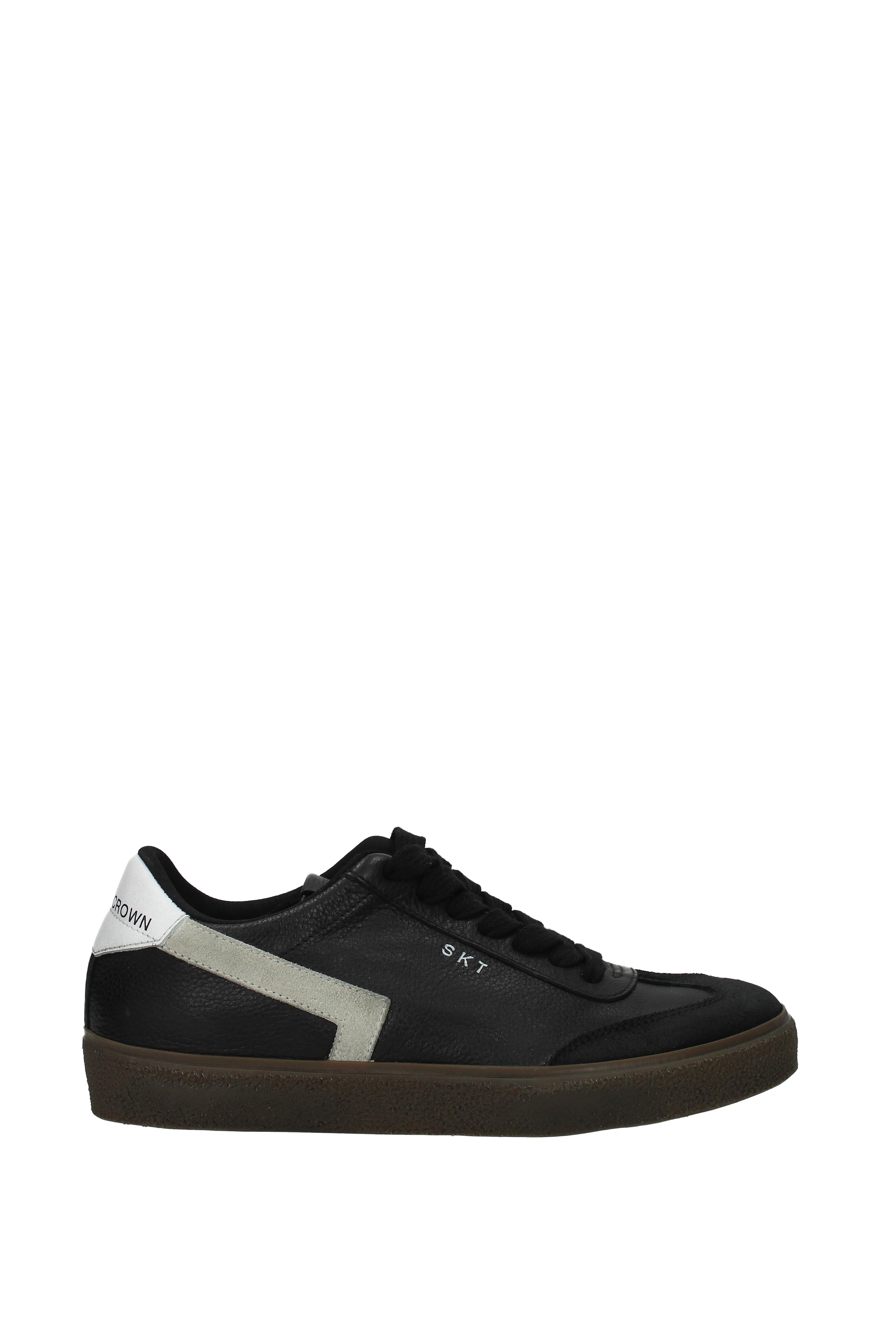 Sneakers Leder Leder Leder Crown Herren - Leder (MLC791) 0f833d