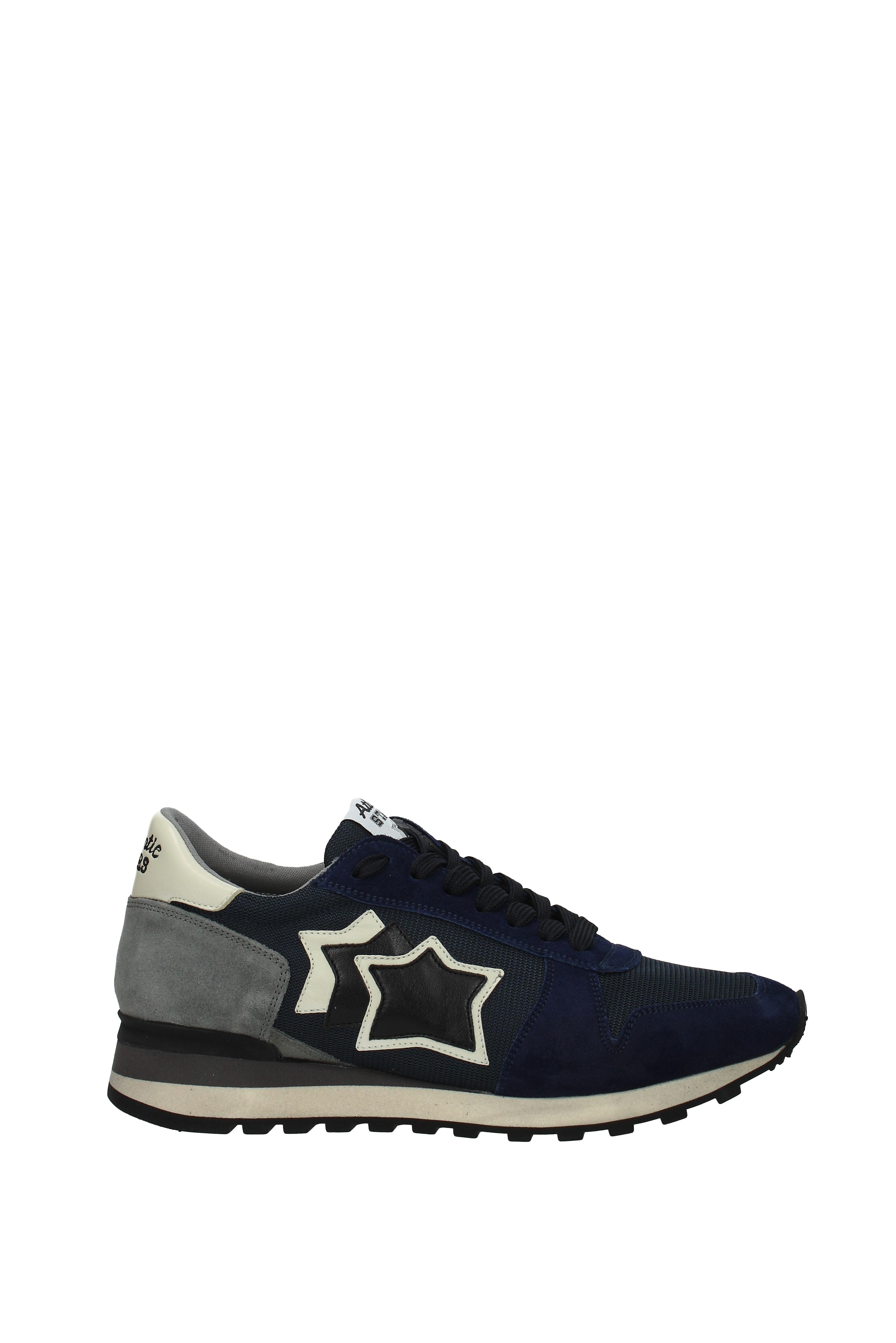 Sneakers Atlantic Herren Stars argo Herren Atlantic - Wildleder (TESSUTOLINEEARGO) 32f3da