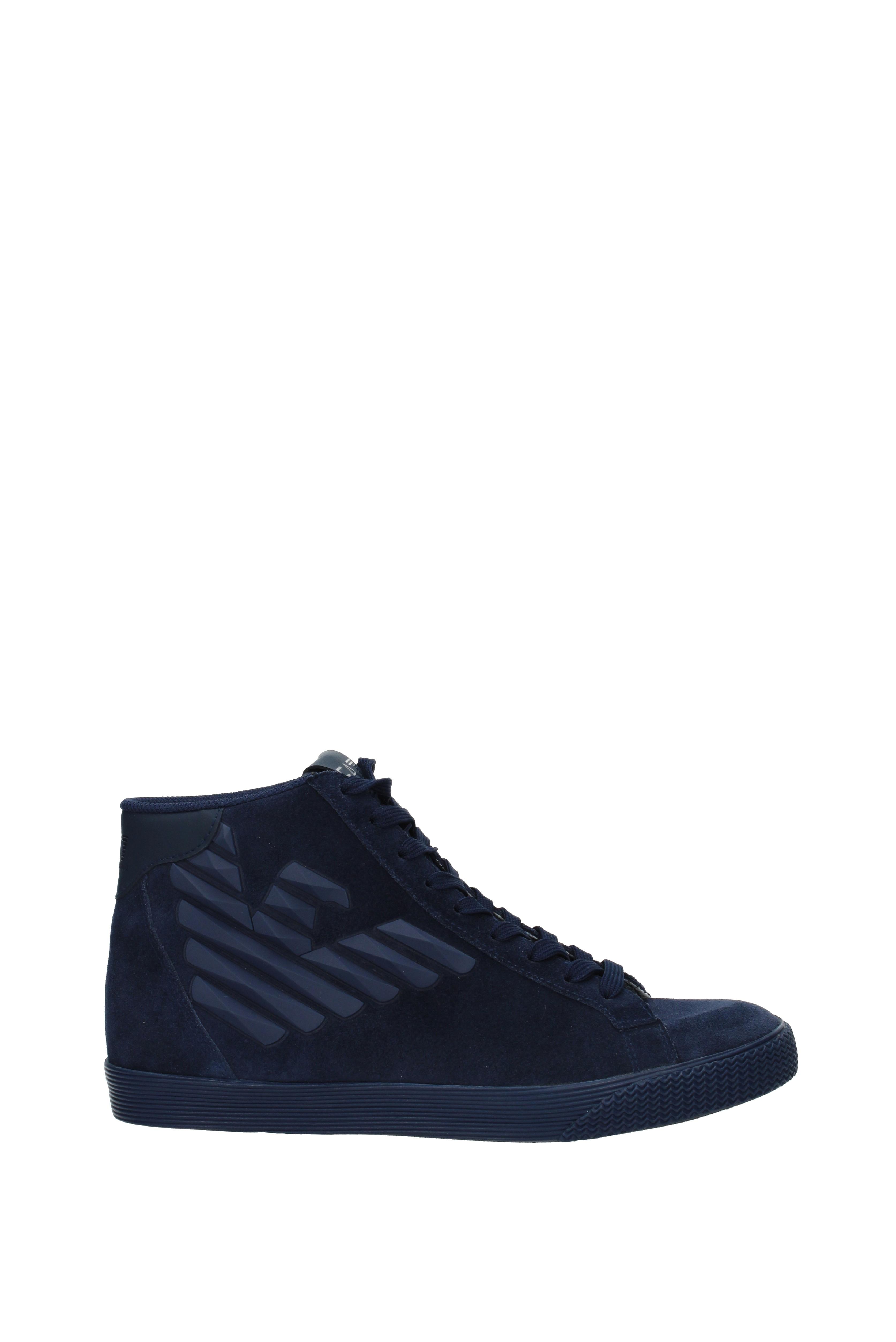 Sneakers Armani Emporio pride ea7 Herren - Wildleder (2480107A299)