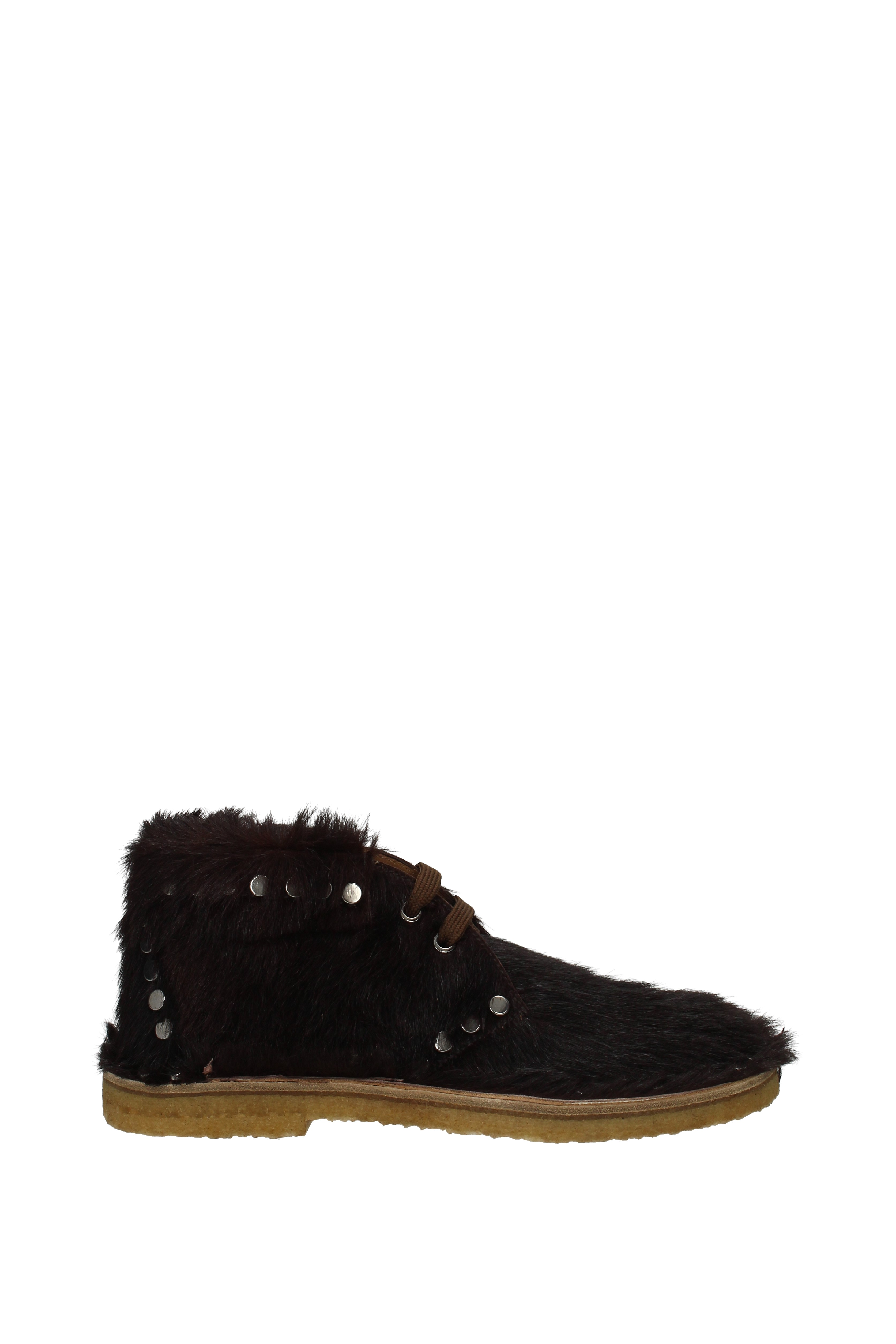 Stiefeletten Stiefeletten Stiefeletten Prada Damen - Ponyfell (1T899H) 0f0c9c
