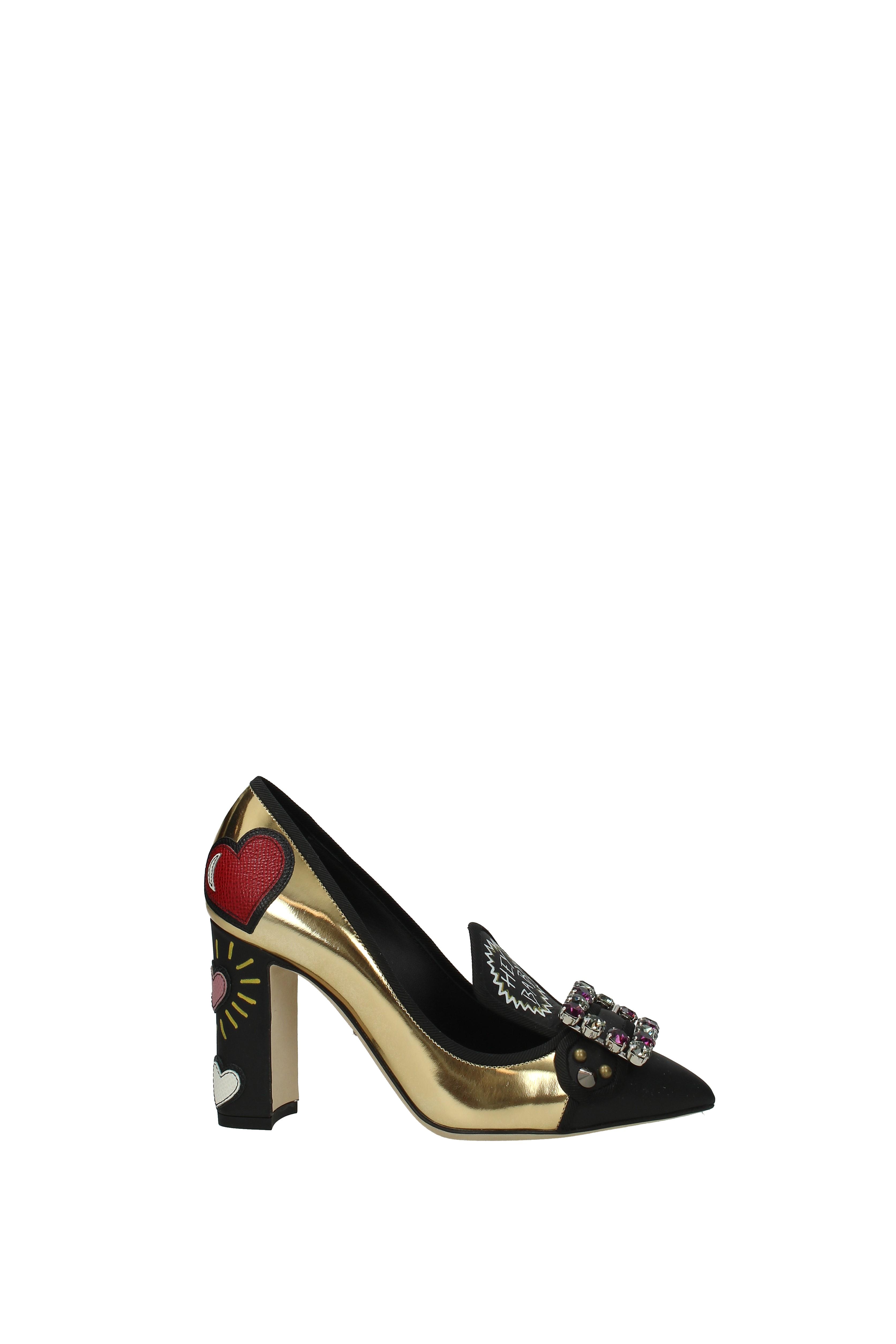 Pumps Dolce amp Gabbana Damen Leder CD0935AM947