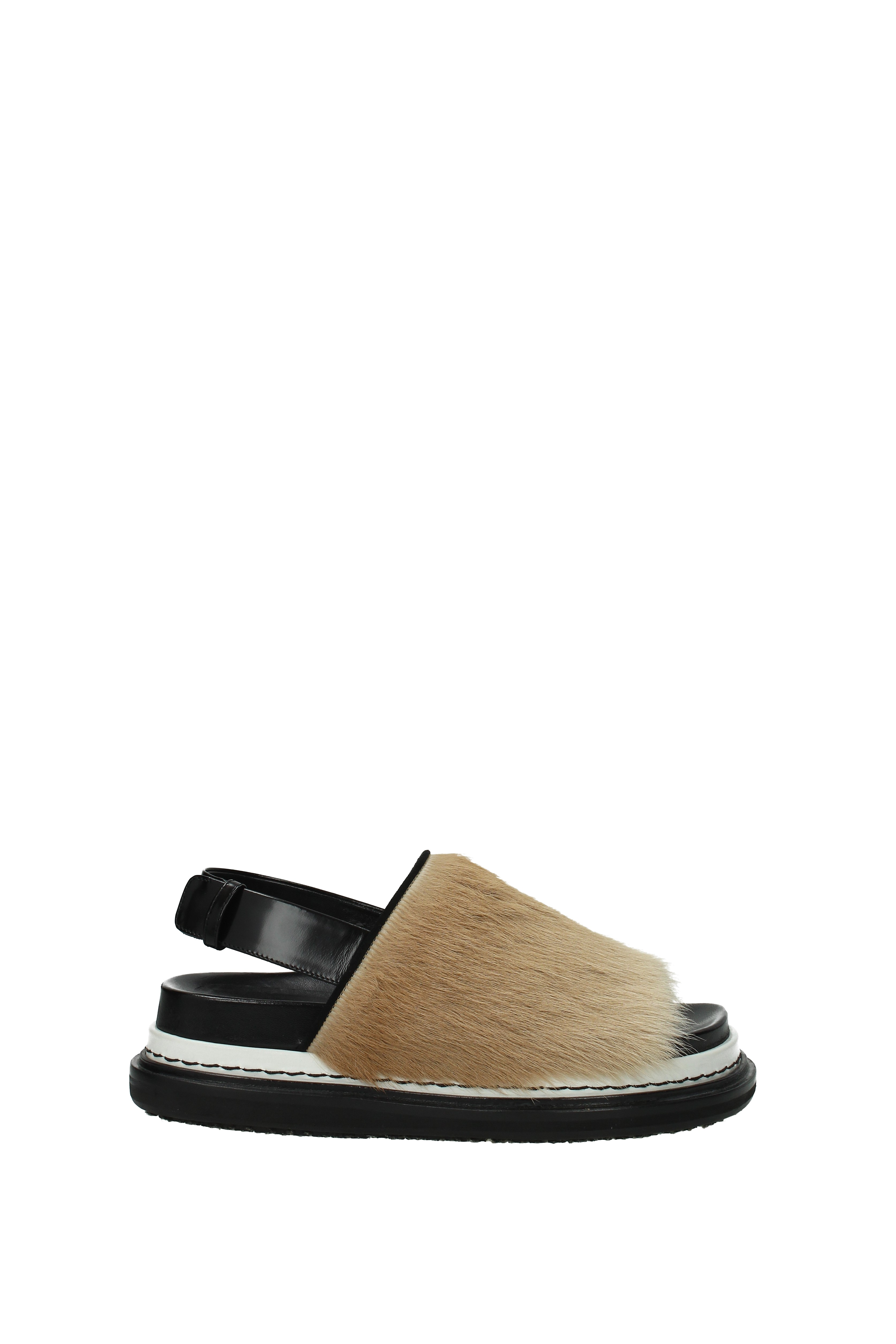 Sandalen Marni Damen - - - Ponyfell (1FBMST27G01LV637) 0bcea2