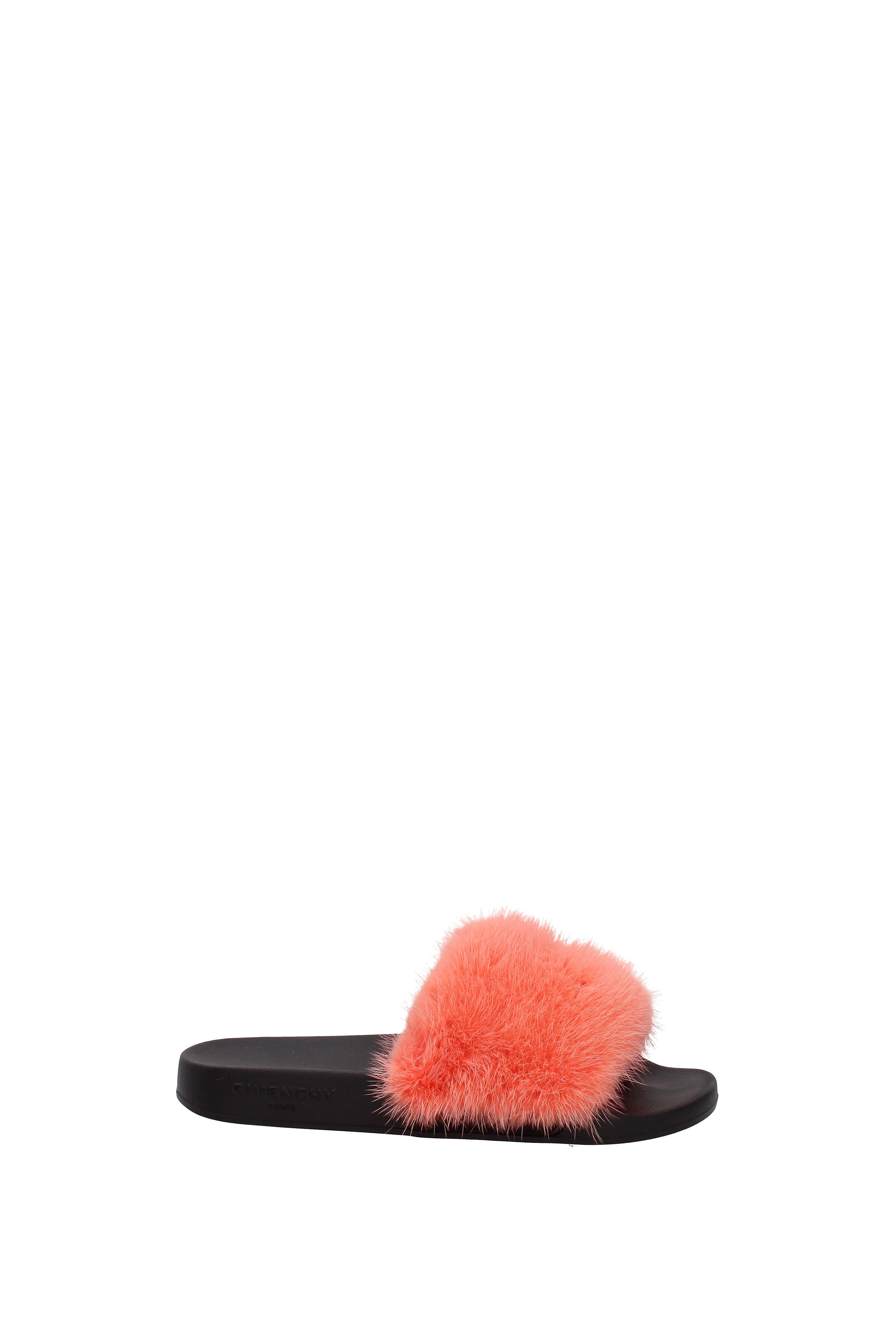 Flip-Flops und Fell Holzschuhe Givenchy Damen - Fell und  (BE08209806) d1e953