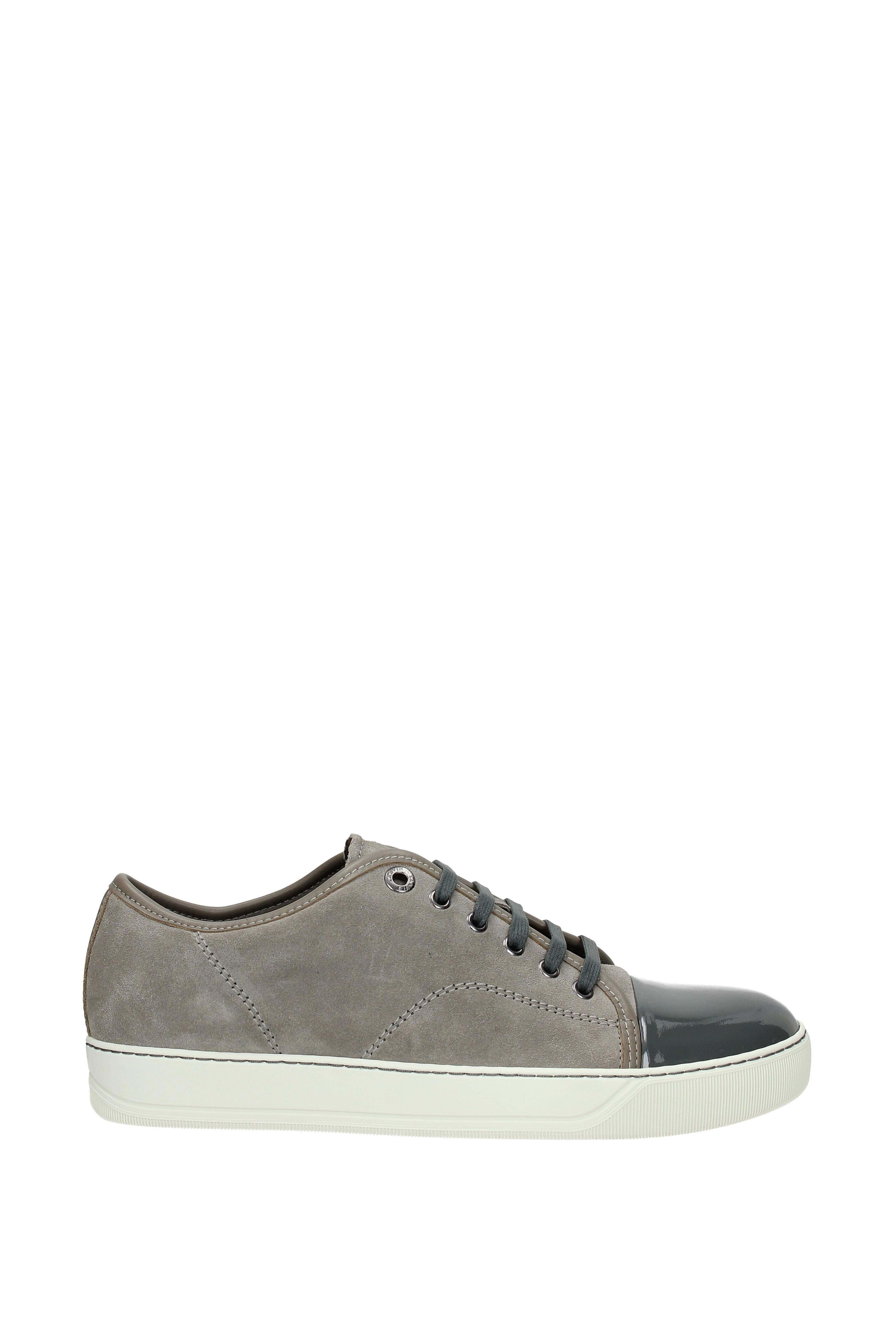 Sneakers Herren Lanvin Herren Sneakers - Wildleder (FMSKDBB1VBAL) 6f2cf0