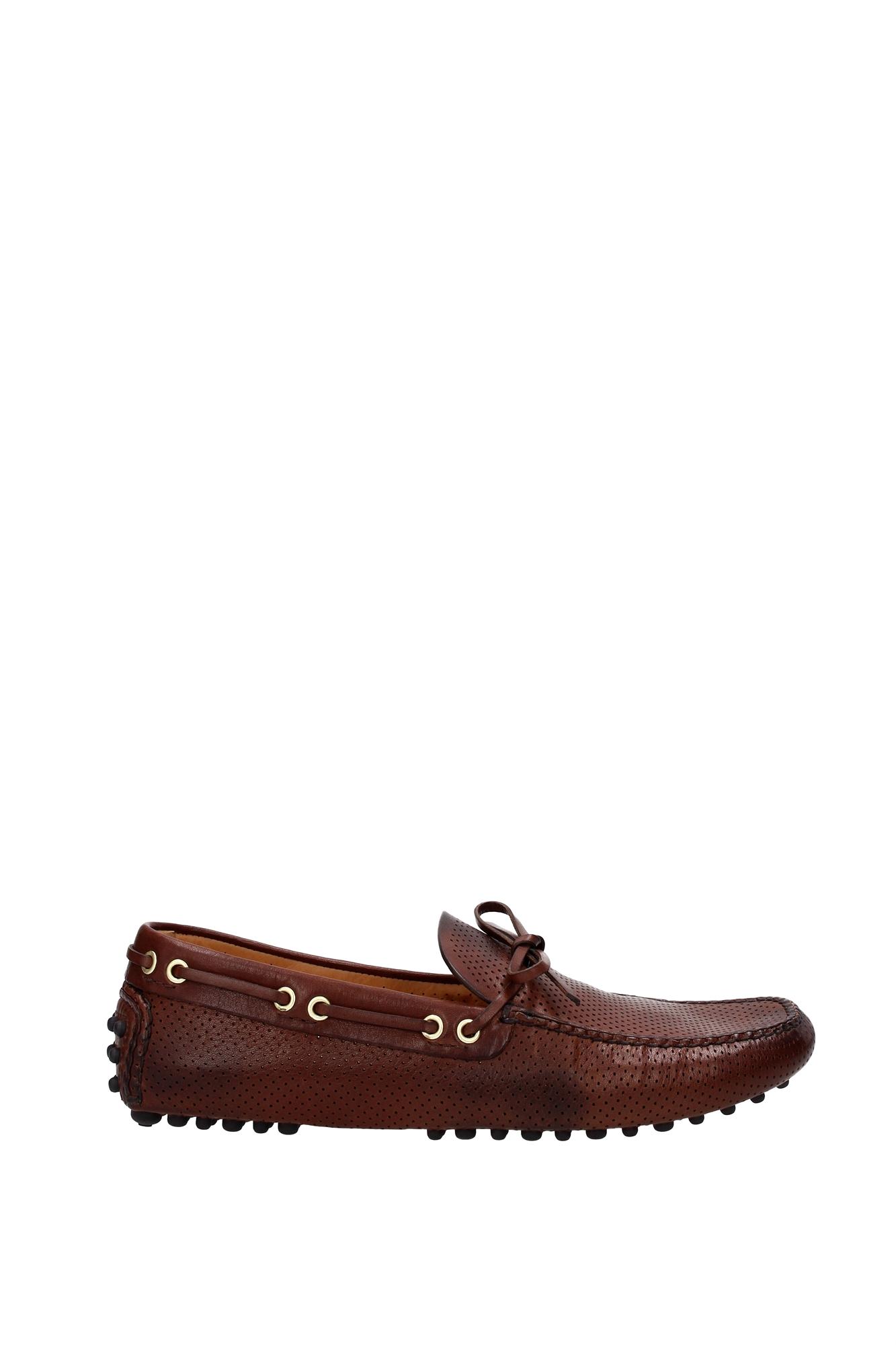 Scarpe casual da uomo  Mocassini Car Shoe uomo - (KUD 006 bruciatovintagecalffo)